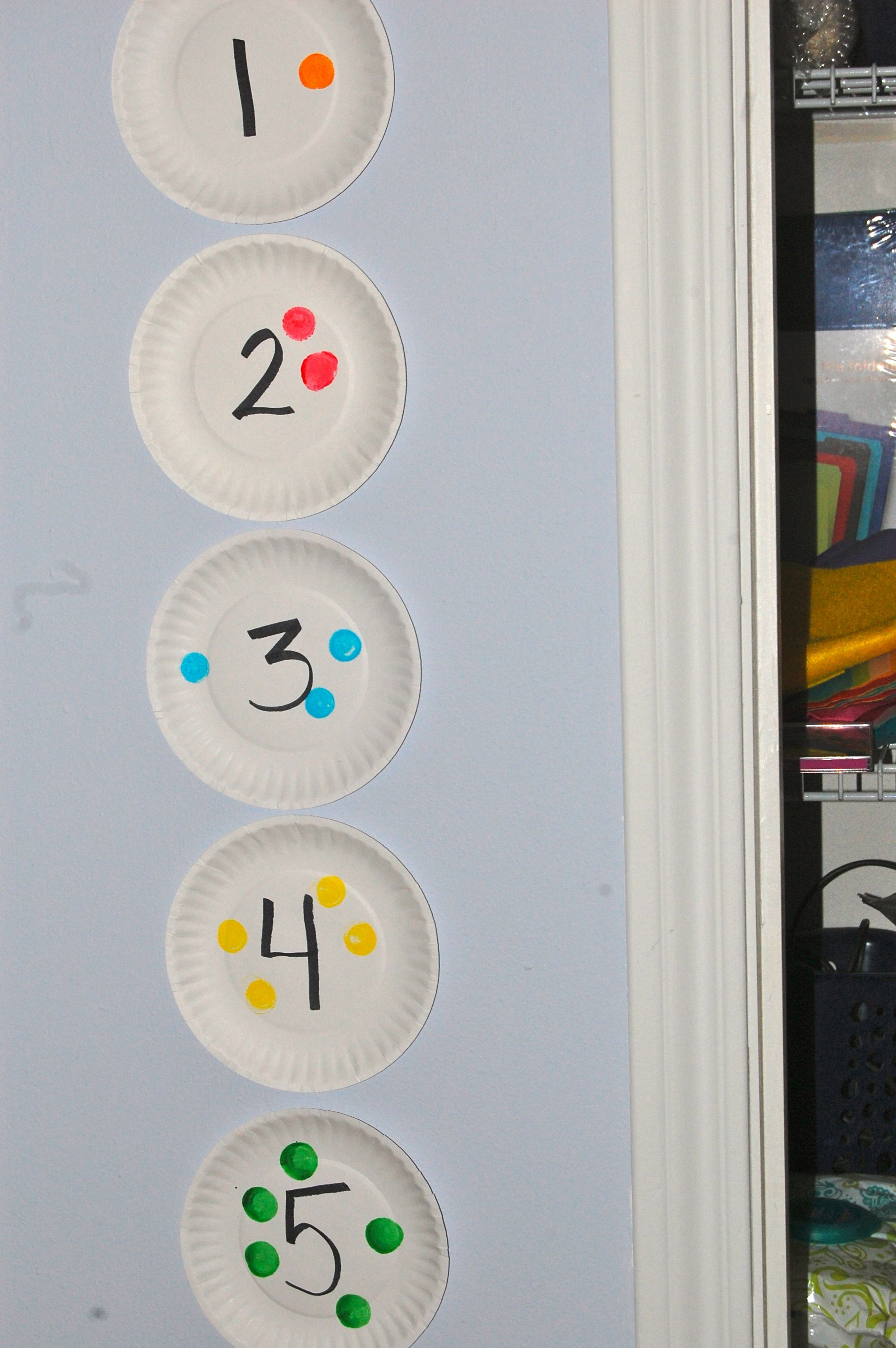 Easy And Effective Dot Paint Number Line For Pre K Kinder