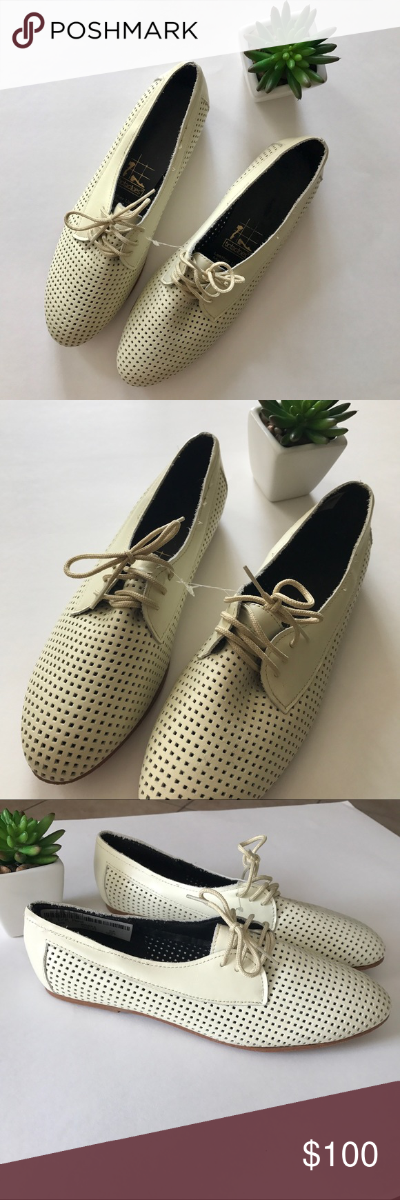 4d702af218 American Apparel Amanda Shoe RARE NWT Iconic Amanda oxford loafers in Khaki  leather. tictactoes for American Apparel. Size 10.5. Run small.