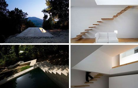 Dream-House Designs: 10 Uncanny Ultramodern Homes Ultramodern Buried ...