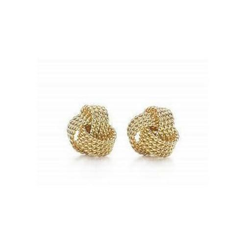 Tiffany Twist Knot Earrings Gold Outlet Holy Cow I M