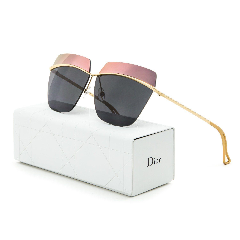 907d49491b Gafas de sol Christian Dior DIORMETALLIC Rose Cuadrado: Christian Dior:  Amazon.es: Ropa y accesorios