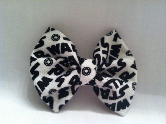 Star Wars Hair Bow by BettyJax on Etsy, $3.00