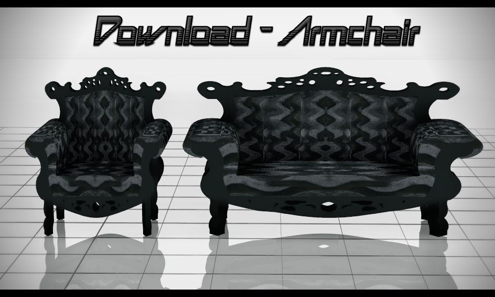 Download Armchair Sofa By Daschui Deviantart Com On
