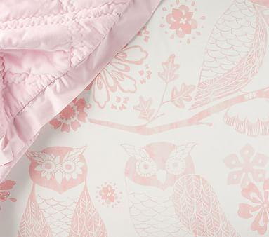 Mckenna Owl Fitted Crib Sheet Baby Crib Sheets Crib