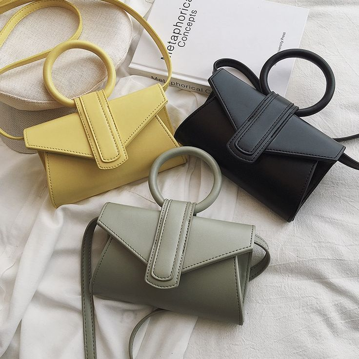 Cute Circle Handle Women Mini Handbags Leather Clutch Bags Ladies Crossbody Shoulder Bags Saddle Bag Bolsa Feminina