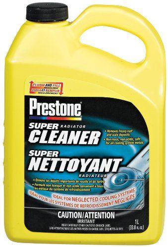 Prestone As101 Super Radiator Cleaner 33 8 Oz Non Acidic