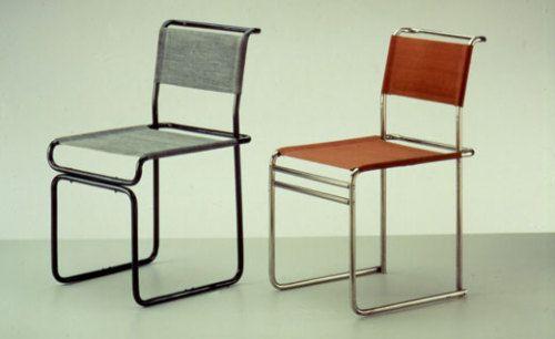 Tubular Steel Chairs Marcel Breuer, 192829