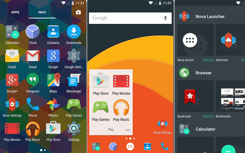 Nova launcher prime apk free download for android Nova