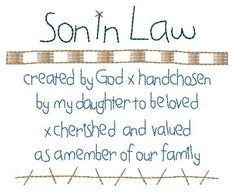 quotes about son in law | SON IN LAW | Son in law, Sons, Law quotes