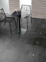 Slate floors - like no grout lines