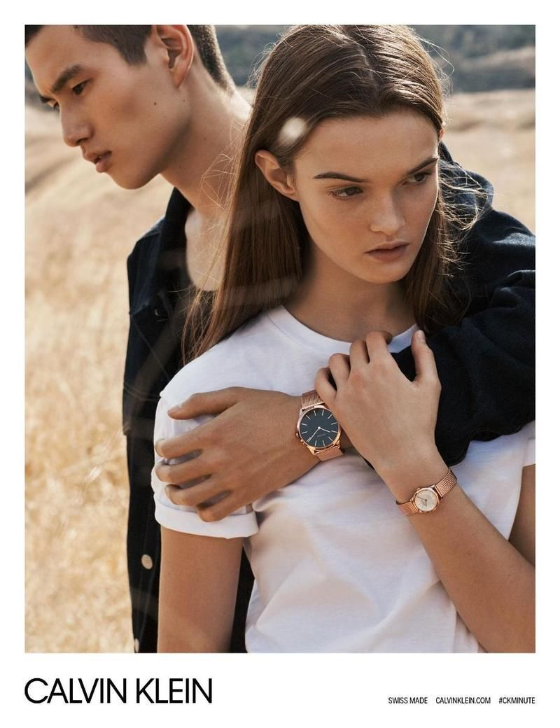 5bc7739a5aee Calvin Klein Heads Outdoors for Spring 2018 Watches Campaign ...