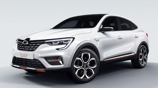 Seoul 2019 Renault Samsung Motors Xm3 Inspire Samsung Car Manufacturers Coupe