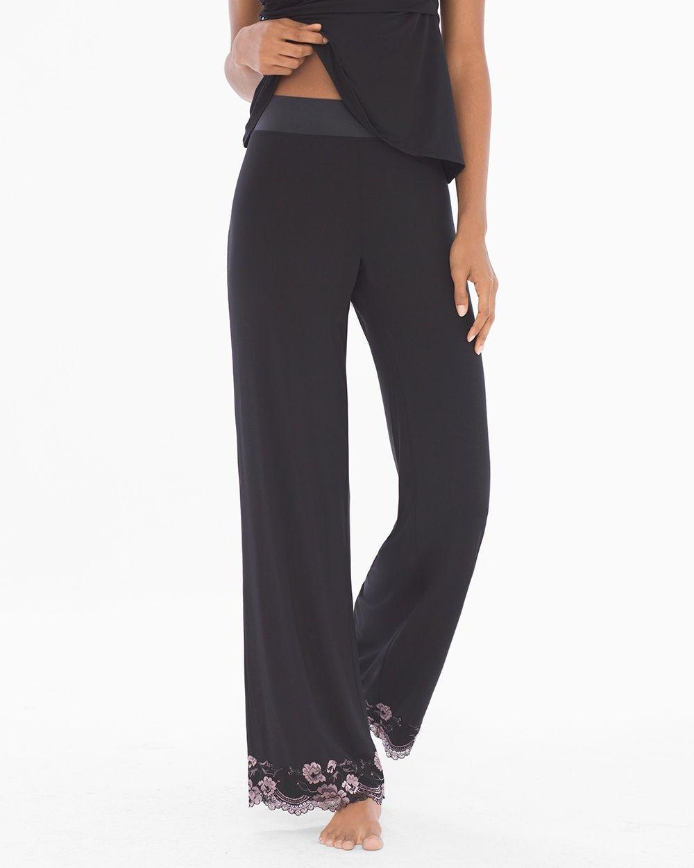 Soma Limited Edition Flirtation Pajama Pants Black. Cool NightPajama ... 3ecbba08e