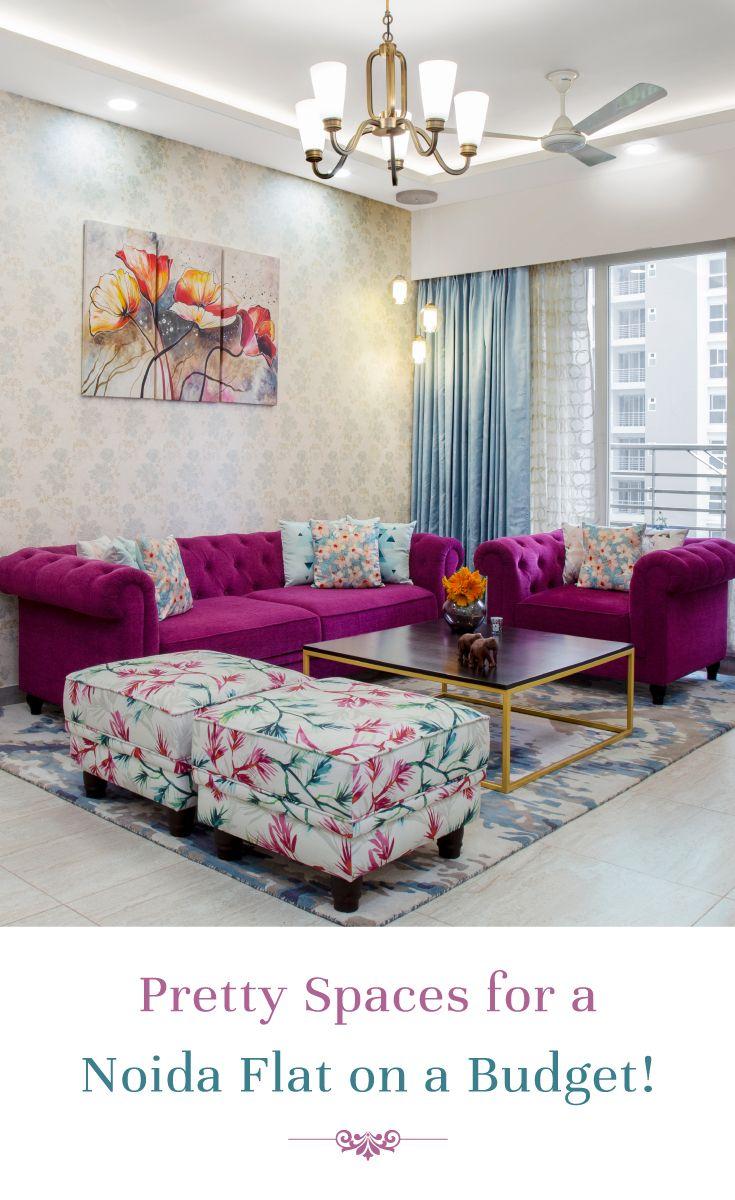 Photo of Zeitgenössische farbenfrohe Innenräume mit kleinem Budget!
