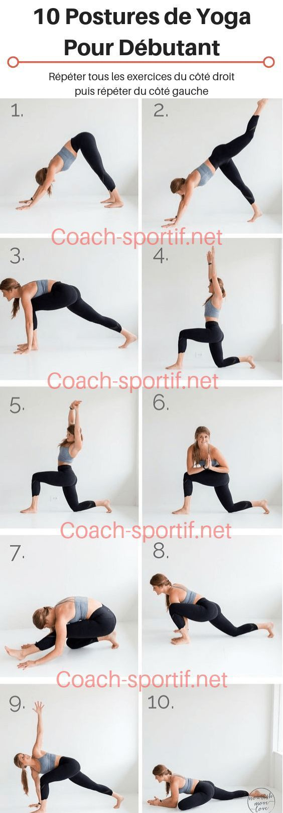 11 postures de yoga pour débutant que tous croient connaître