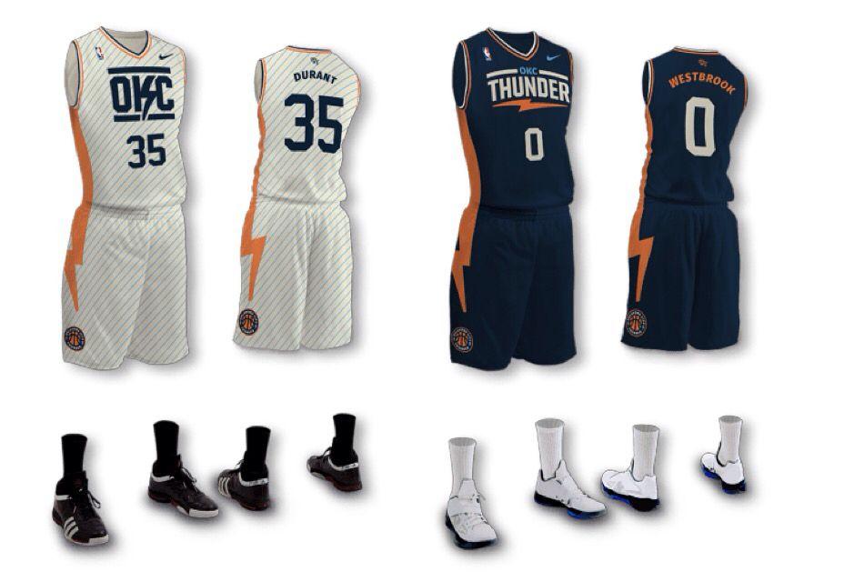 more photos 98599 b2454 OKC Thunder Concept Nike jerseys | OKC Thunder Stuff ...