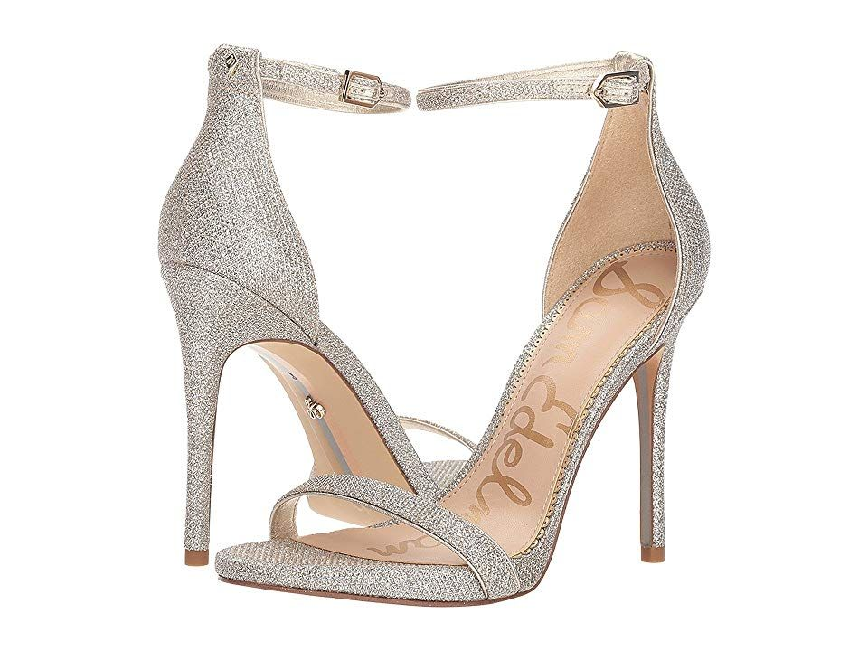 349a2aeeb0109 Sam Edelman Ariella Strappy Sandal Heel (Jute Glam Mesh) Women s Shoes.  With its