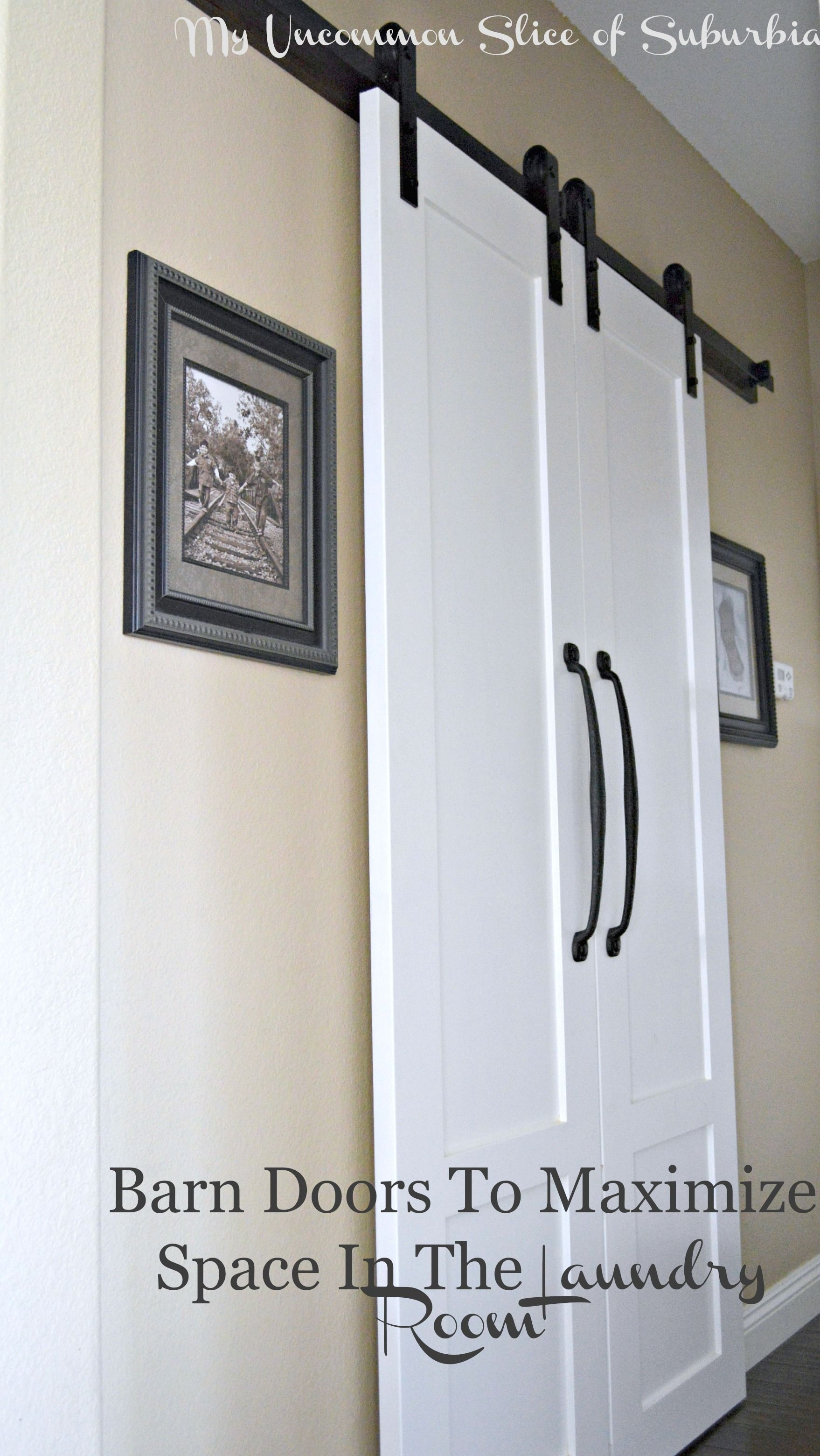 Barn Doors For The Laundry Room Barn Doors Small Rooms