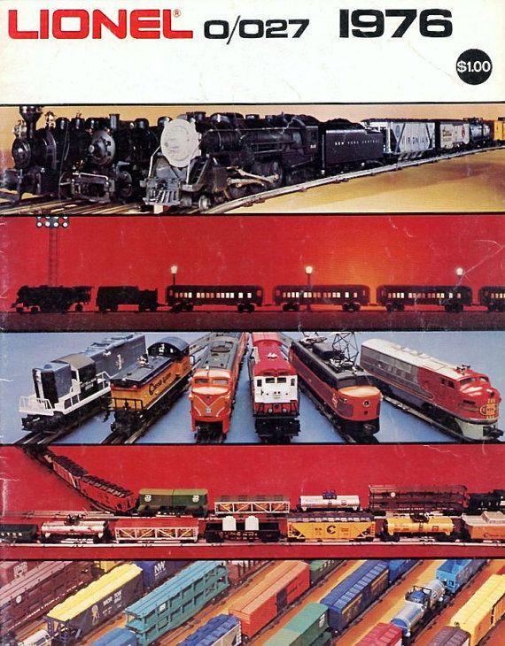 1976 Lionel Train Catalog - Vintage Electric Trains - Johnny