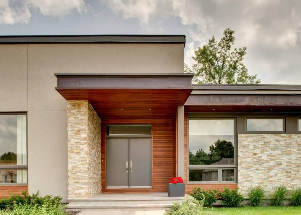 Contemporary Bungalow Porch Ardington And Associates Design