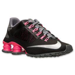 Women's Nike Shox Superfly R4 Running Shoes Finish Line Black/Metallic  Silver/
