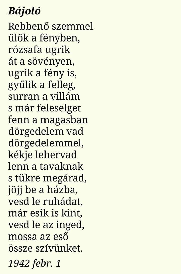 legjobb versek idézetek Radnóti Miklós: Bájoló | vers | költő | költészet | #magyar #vers