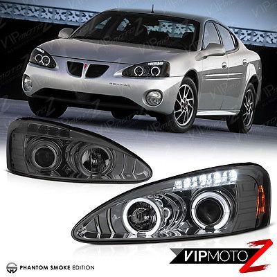 04 08 Pontiac Grand Prix Gt Gxp Gtp L R Halo Projector Smoke Headlight Lamp Pontiac Grand Prix Pontiac Grand Prix