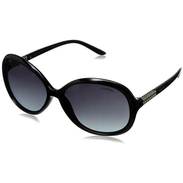 b4dde4fb778e Polaroid Sunglasses Women s PLD5009S Polarized Oval Sunglasses ( 44) ❤  liked on Polyvore featuring accessories
