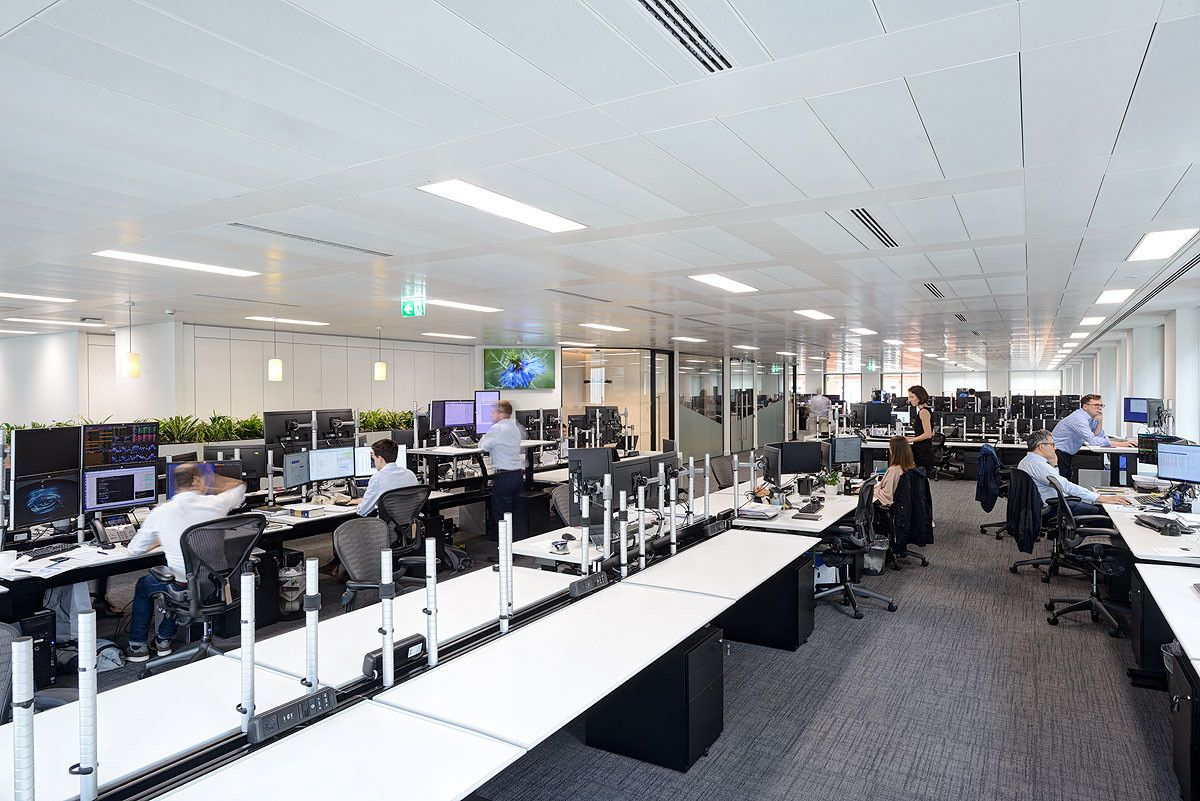 Office Tour Hedge Fund Offices London Design Firms Workplace Design Commercial Design