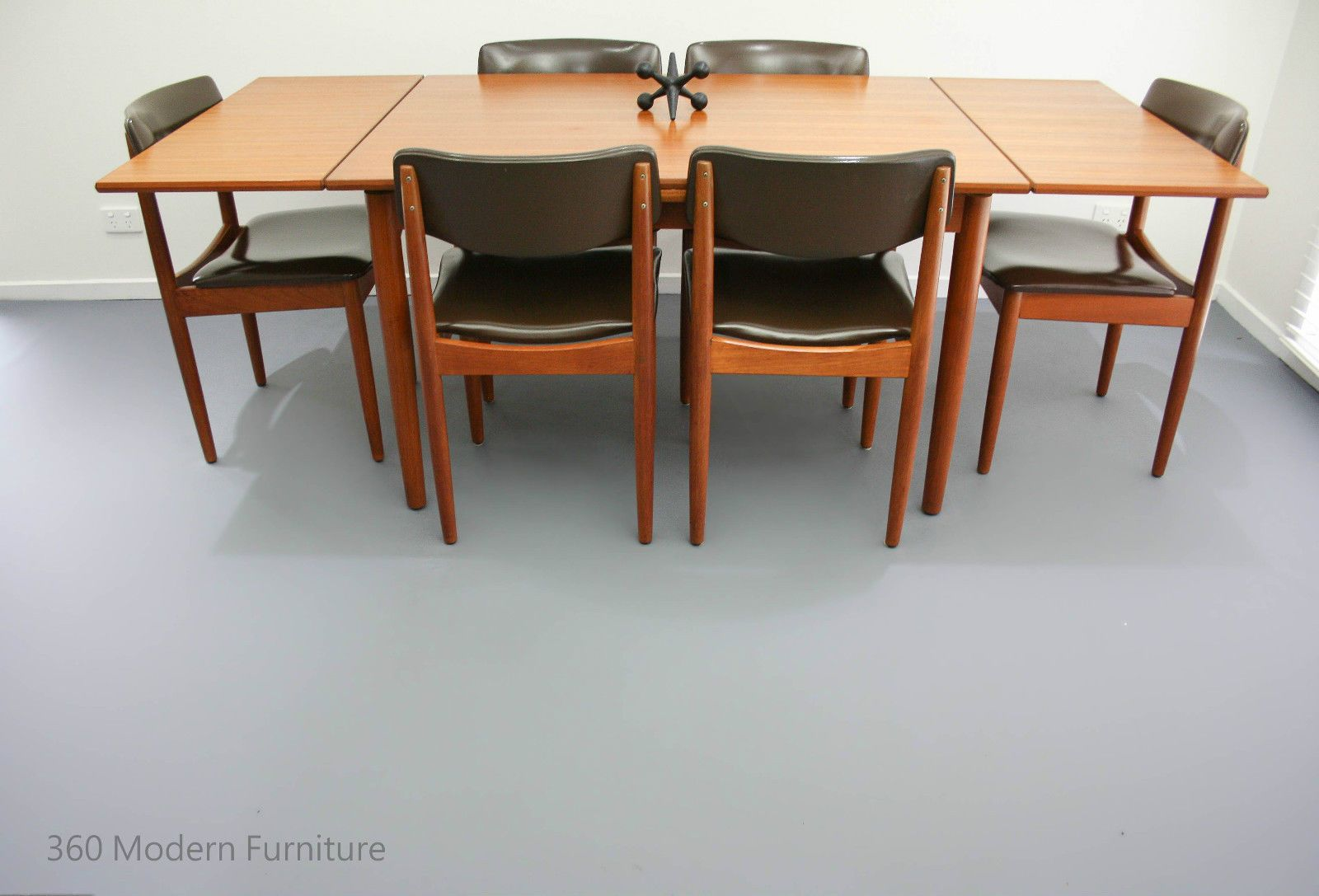 Mid Century Chiswell Dining Table & Chairs X 6 Teak Vintage Retro Magnificent Dining Room Table And Chairs Ebay 2018