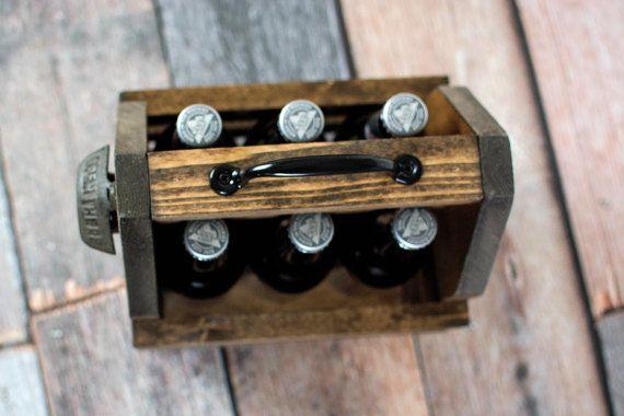 Monogram Beer Carrier Beer Tote Six Pack Carrier Personalized Beer Carrier Groomsman Gift Beer Opener Magnetic Beer Opener Beer Bottle Carrier Beer Carrier Personalized Beer