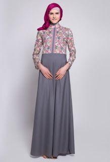 Gamis Batik Kombinasi Organza Baju Koko Batik Kombinasi Polos