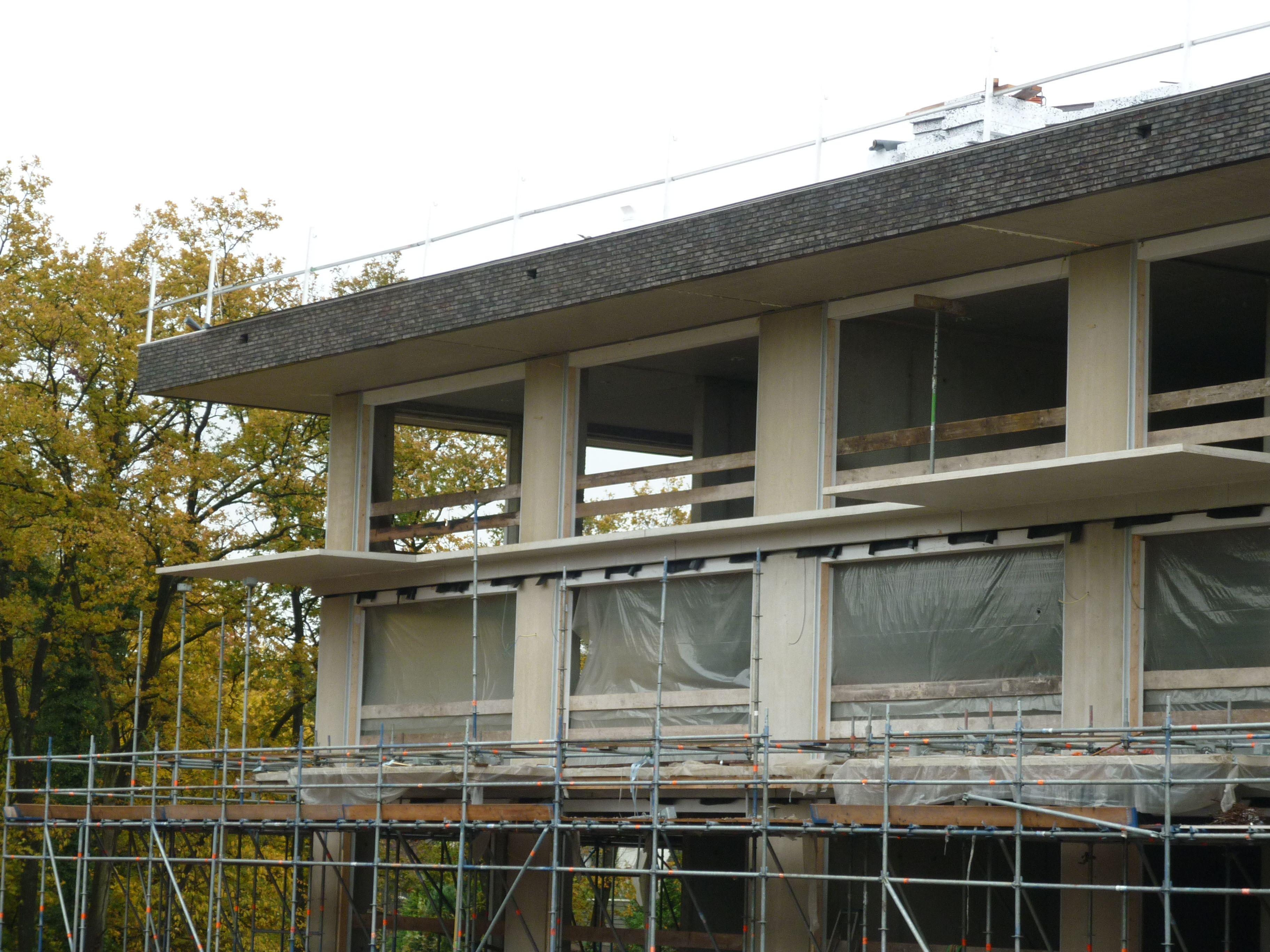 Huizen het Oosten, ultraslanke balkonplaten in UHPC