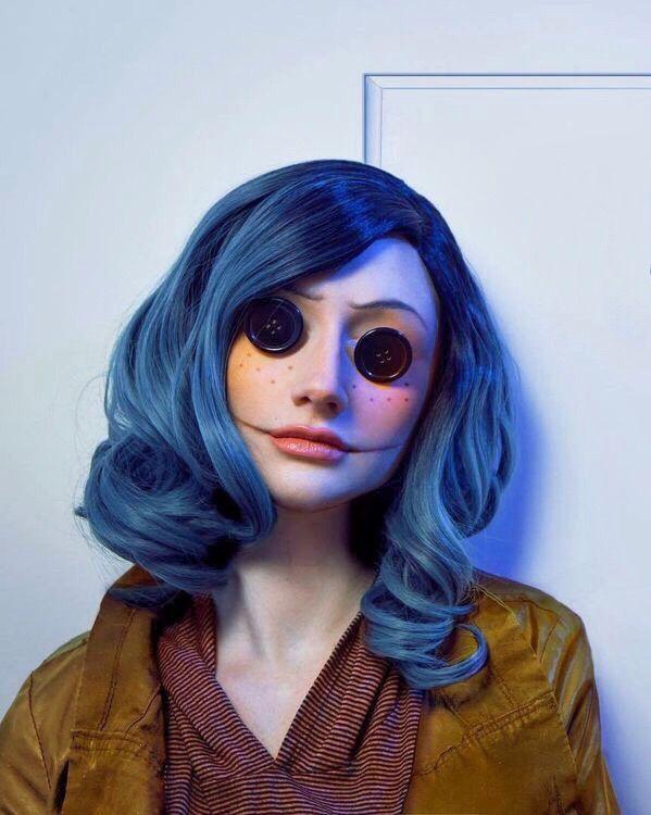 Coraline Halloween Make Fantasias De Cosplay Looks Halloween