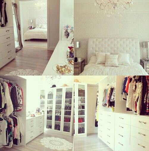 I want this closet right now!