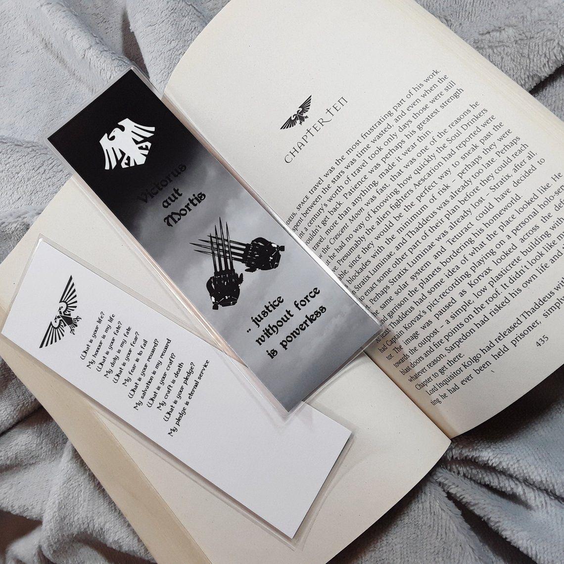 Warhammer Raven Guard Inspired Bookmark Etsy Bookmarks Handmade Glossy Photo Paper Warhammer [ 1140 x 1140 Pixel ]