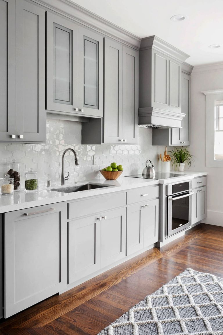 50+ Light Gray Kitchen Cabinets ( COOL & MOODY ) Grey Cabinets