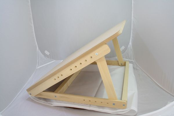 Table Top Drawing Board Easel   Easy Fold Away Table Top Easel   Hand Made