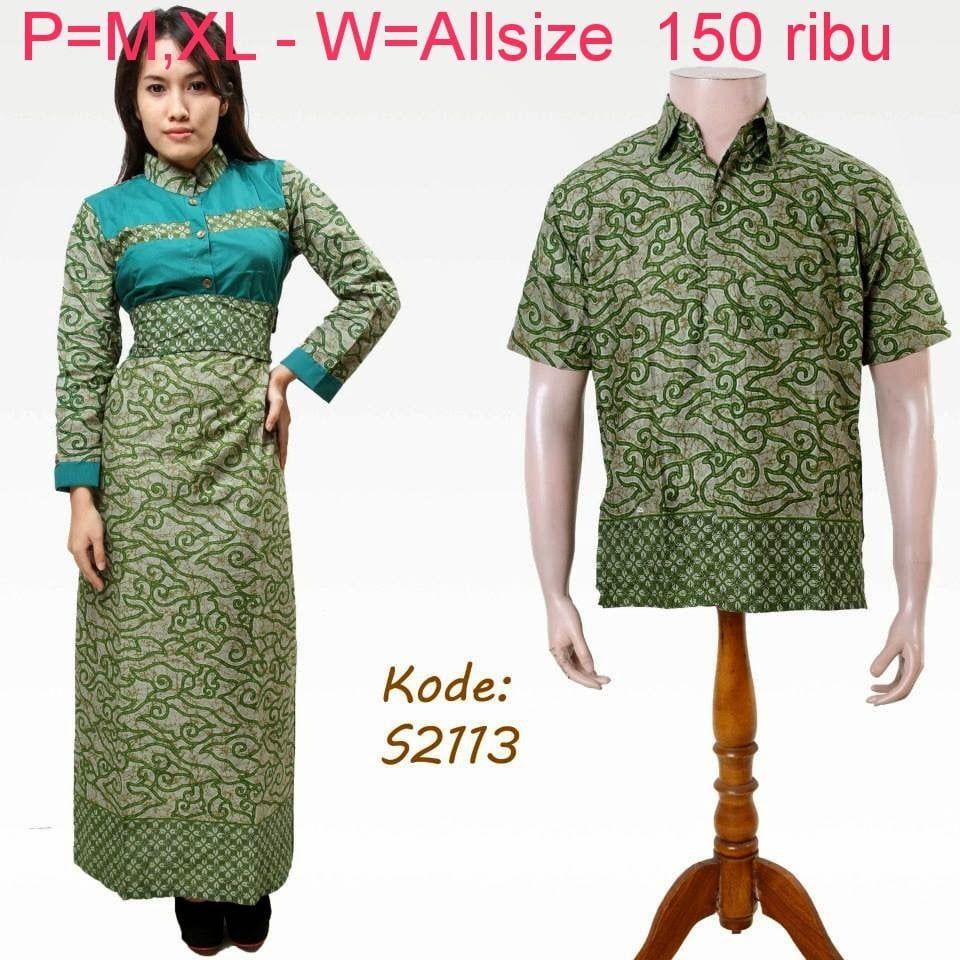 Desain Baju Batik Modern Berpasangan di 8  Modern, Desain
