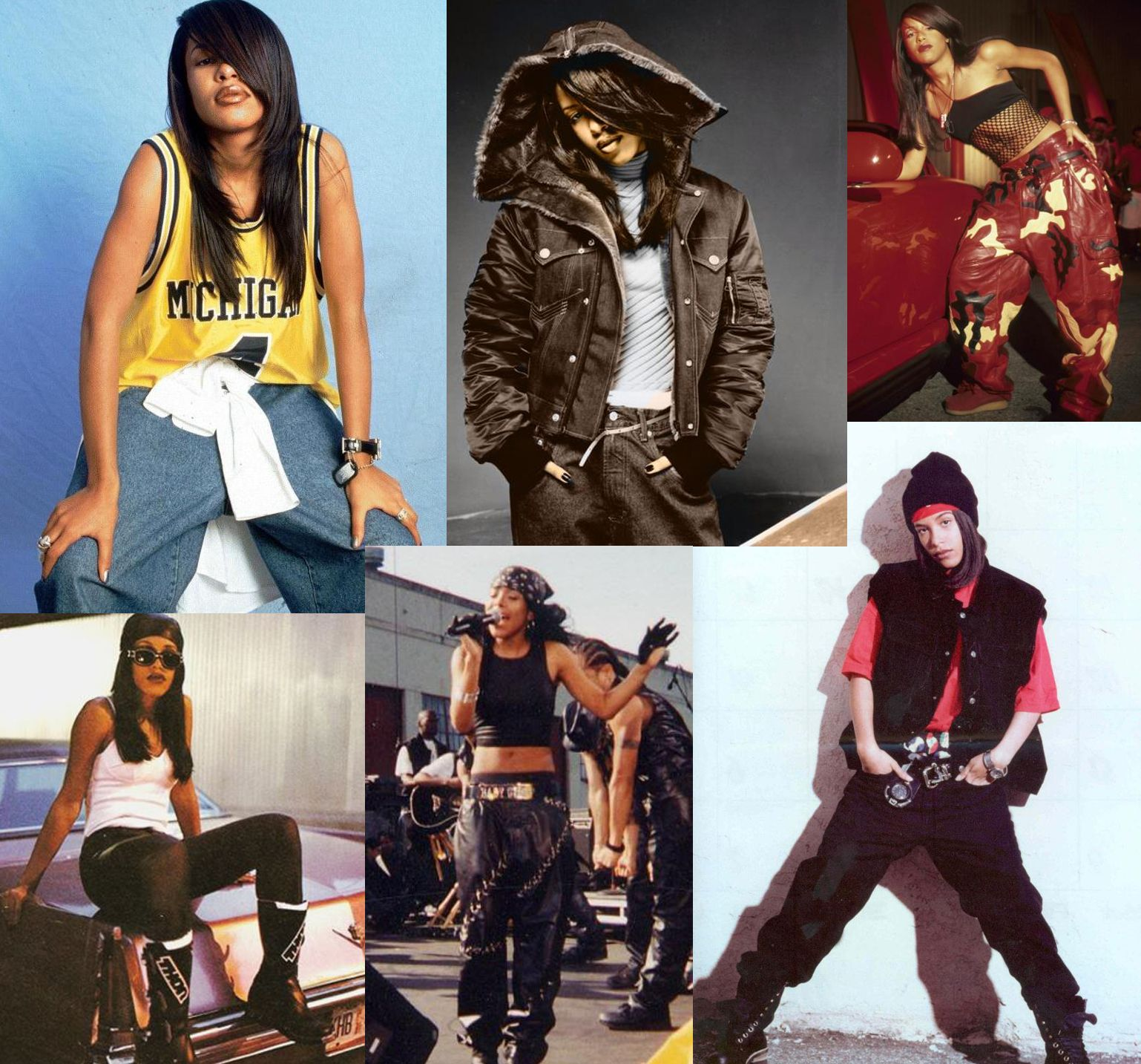 Aaliyah 90s Fashion Aaliyah 90s Fashion Dope Girl Fresh Aaliyah Pinterest Aaliyah