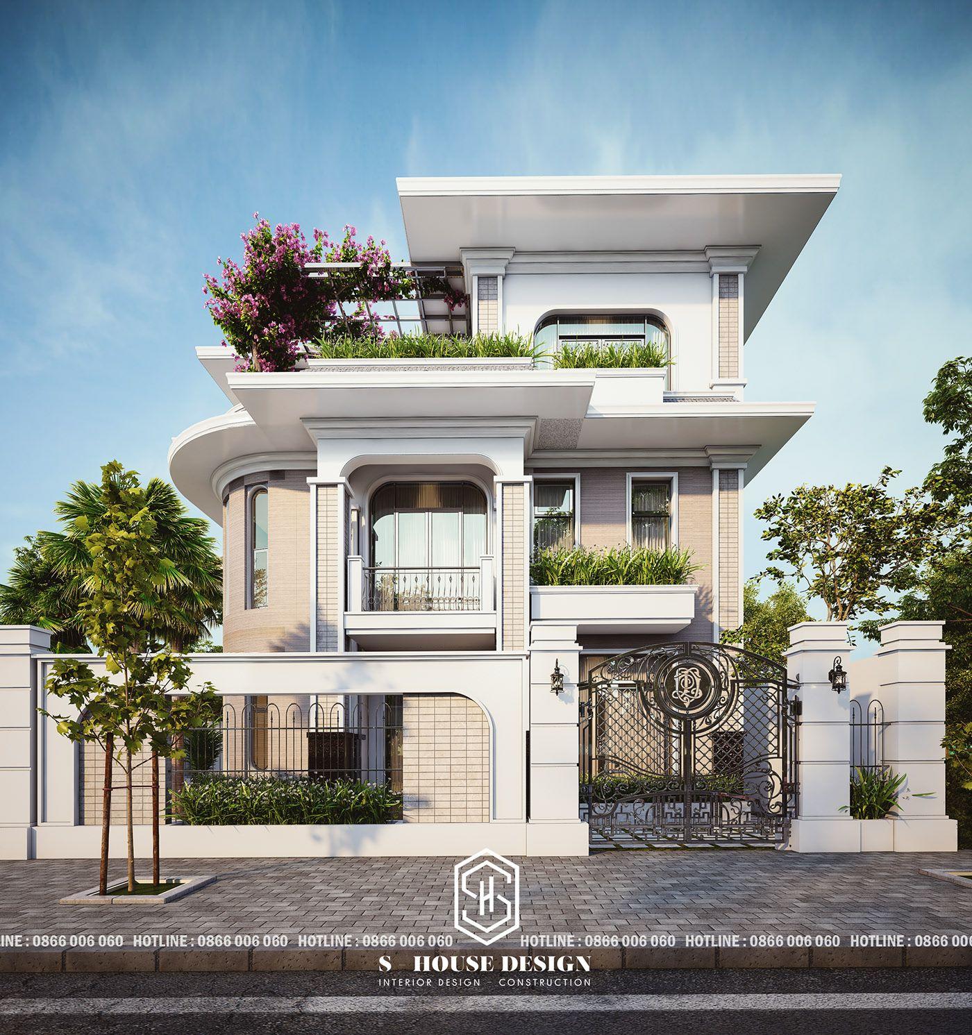 Modern Building Designs 2019: MS.MAI - AN VIEN 2019 On Behance Trong 2020