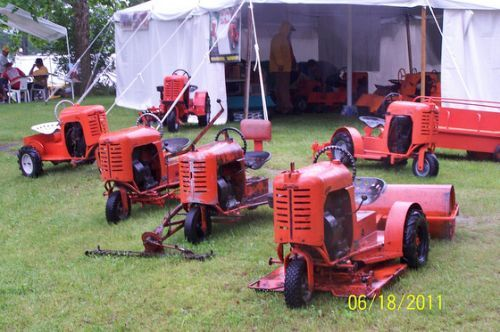 New Bantam owner - Bantam Tractor