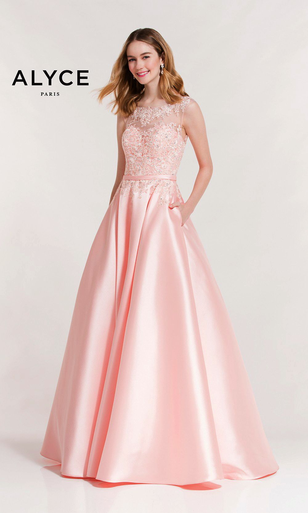 Evening Dresses Prom Dresses by ALYCE PARIS<BR>aay7010<BR>Flower ...