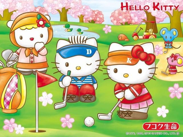 Hello Kitty Daniel キティサンリオキャラ