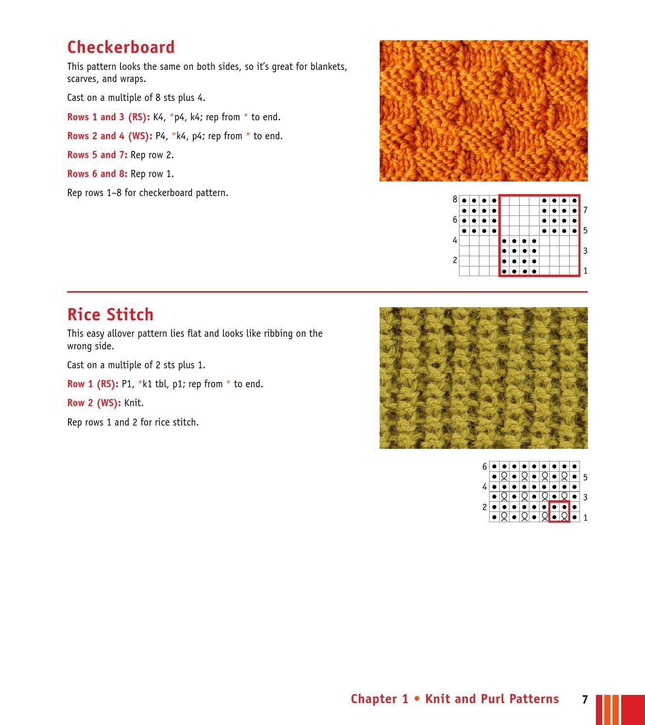 ISSUU - Knitting stitches visual Encyclopedia by Elena Petrova ...