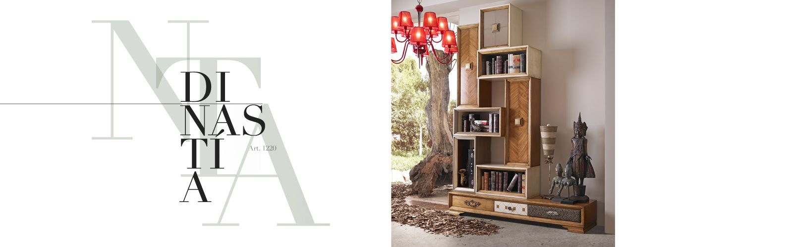 Librero Dinast A De Lola Glamour Bookcases Handmade Dinast A  # Muebles Lola Mora