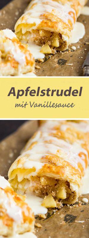 #food #apfelstrudel #vanillesauce #springlane #tipps