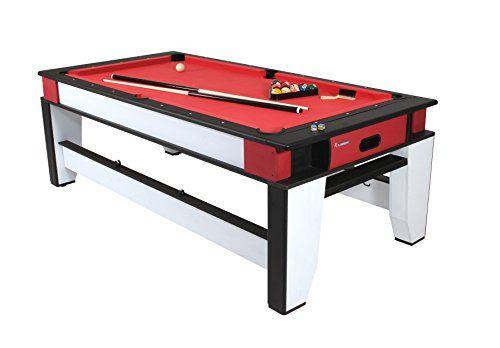 Atomic 2 In 1 Flip Table 7 Feet Multi Game Table Air Hockey Table Air Hockey