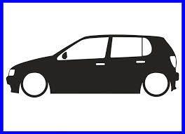 Image Result For Volkswagen Golf Silhouette Freezer Paper Stencils