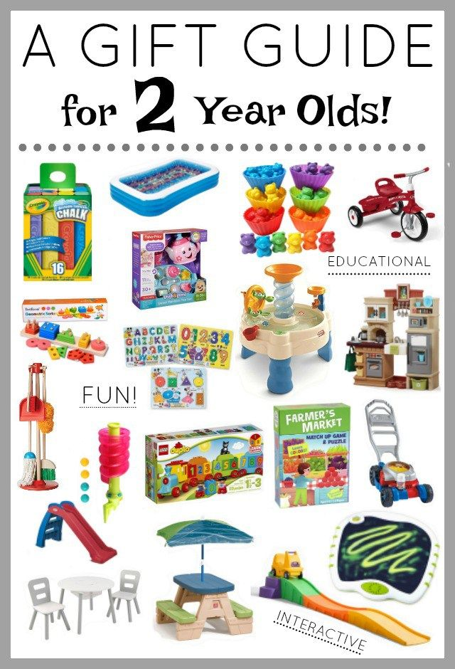 The Best Gift Guide To Help You Decide On What Get A 2 Year Old For Their Birthday Christmas Or Just Because Wide Variety Of Gifts That Are Fun